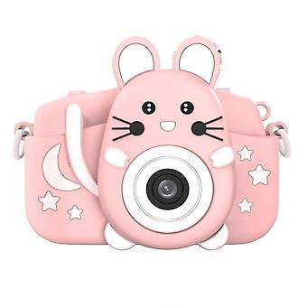 Lapsikamera Hd Video Selfie Musiikki Digitaalikamera