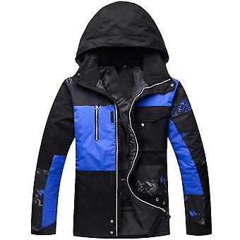 Roupas masculinas de neve quente de inverno definem jaquetas à prova de vento à prova de vento ao ar livre
