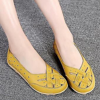 Flats Loafers Leather Shoesins