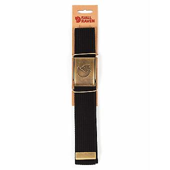 Fjallraven Canvas Brass Belt 4cm - Black
