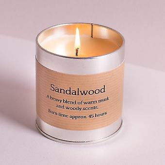 Candles tin candle - sandalwood by st eval