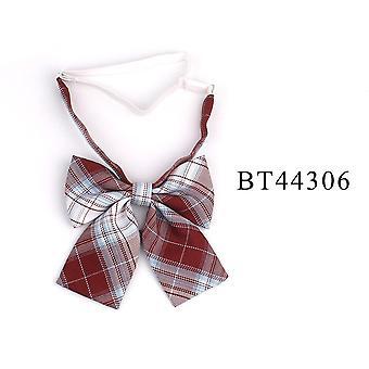 Women Uniform Collar Butterf Bowknot Tie