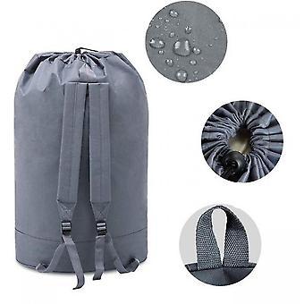 Wäschesack Rucksack mit verstellbaren Schultergurten und Kordelzug