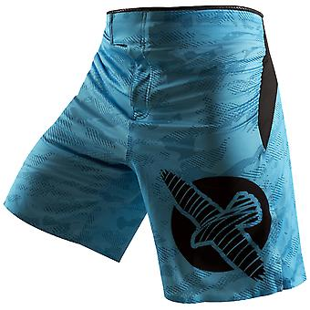 Hayabusa Weld3 MMA Fight Shorts - Blue - bjj boxing fitness training