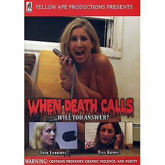 Cuando la importación USA llamadas de muerte [DVD]