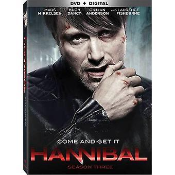 Hannibal: Season 3 [DVD] USA tuonti