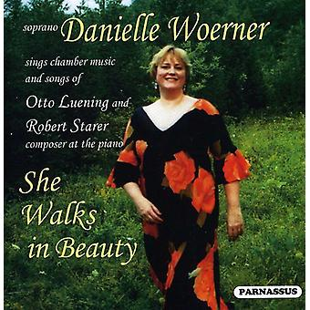 Danielle Woerner - She Walks in Beauty-the Songs of Lueni [CD] USA import
