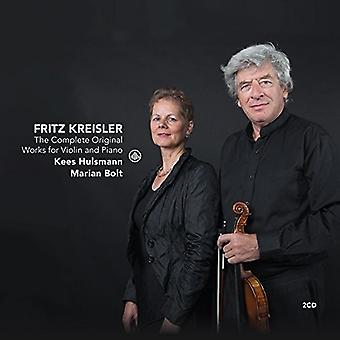 Kreisler / Hülsmann, Kees / Bolt, Marian - Kreisler: Original Gesamtwerk für Violine & Klavier [CD] USA Import