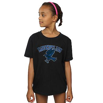 Harry Potter Girls Ravenclaw Sport Emblem T-Shirt