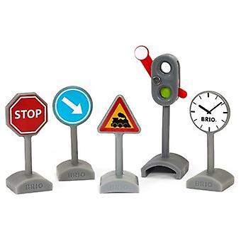 BRIO Traffic Sign Kit 33864