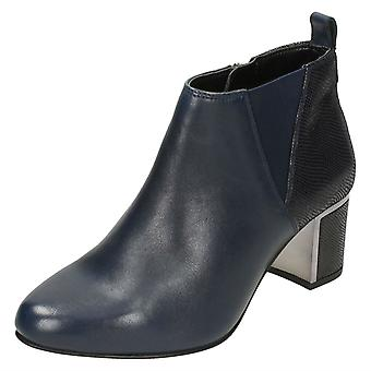 Ladies Van Dal Heeled Ankle Boots Tangier