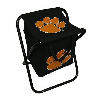 Clemson University Tigers Logo Portable Folding Cooler Seat