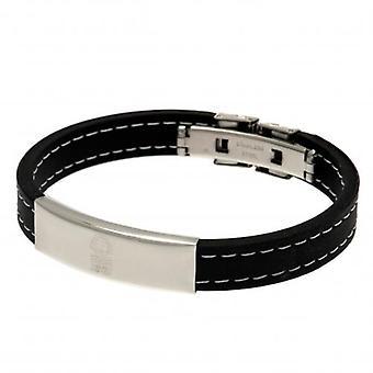 Nottingham Forest gestikte siliconen armband