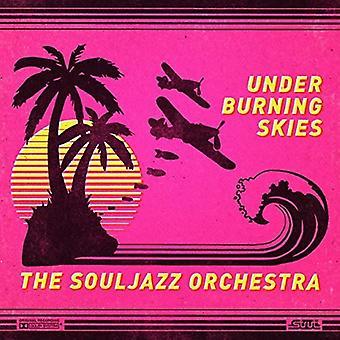Souljazz Orchestra - Under Burning Skies [CD] USA import