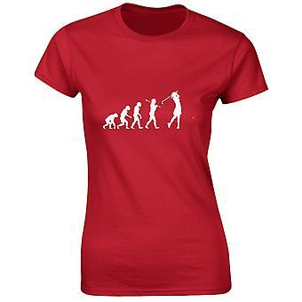 Golfbana Evo Evolution Womens T-Shirt 8 färger (8-20) av swagwear