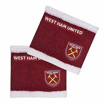 West Ham United FC offizielle Bicolor Armbänder
