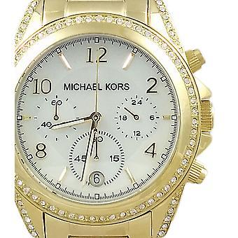 Michael Kors doamnelor ceas Chronograph Blair Gold MK5521
