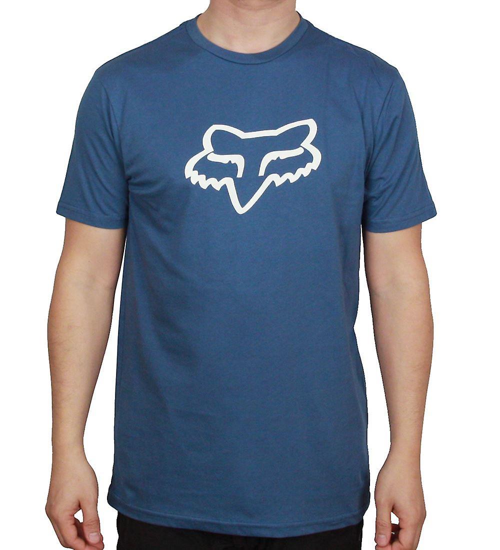 Fox Head Premium T-Shirt ~ Legacy Foxhead dusty blue