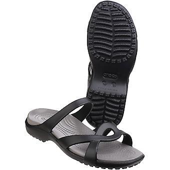 Crocs naisten/naisten Meleen kierre kevyt Croslite vaahto sandaalit