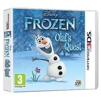 Disney Frozen Olafs Quest (Nintendo 3DS)-nytt