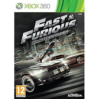 Fast Furious Showdown (Xbox 360) — nowość