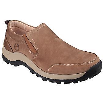 Cotswold Mens Sheepscombe Slip On Shoe Tan