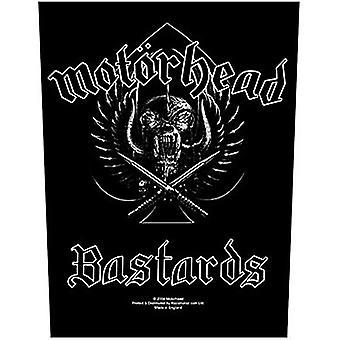 Motorhead ублюдки Jumbo размера нашивки шить на ткани