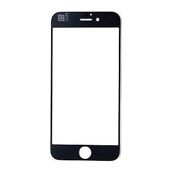 الاشياء المعتمدة® اي فون 6 / 6S 4.7 & ونقلت الزجاج الزجاجي لوحة الجبهة AAA + الجودة - أسود