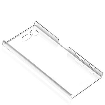 Snap-On Shell Xperia X Compact mince transparent cas dur