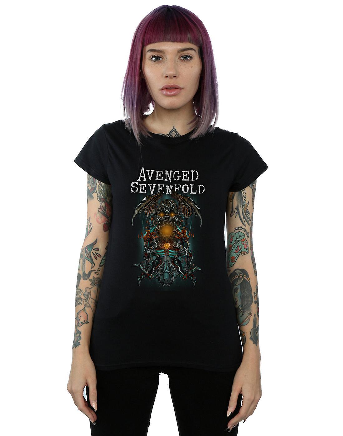 Avenged Sevenfold Women's Oracle Deathbat T-Shirt
