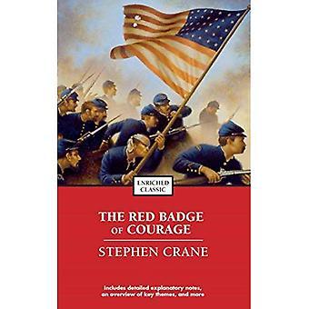 O emblema vermelho da coragem
