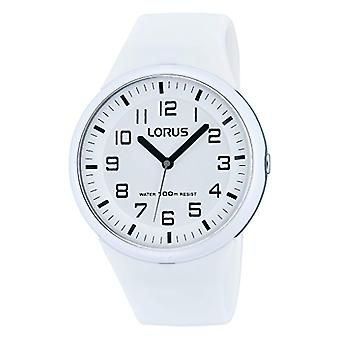 Lorus Watches-Fashion RRX53DX9 wrist watch for women, white silicone strap