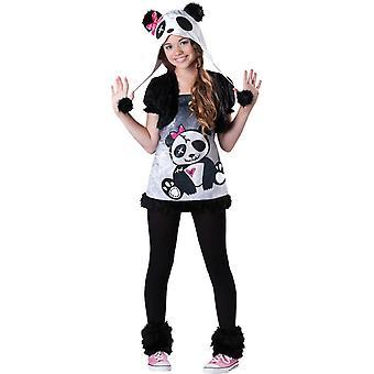 Funny Panda Child Costume