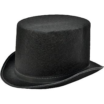 Top Hat Black Felt Large For All