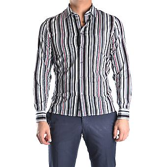 John Richmond Ezbc082079 Men's Multicolor Cotton Shirt