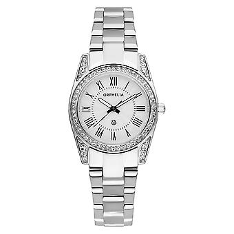 ORPHELIA Ladies Analogue Watch Tiara  Silver Stainless steel OR12501