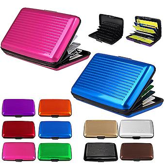 Aluminum card holder, wallet, credit card, different colors