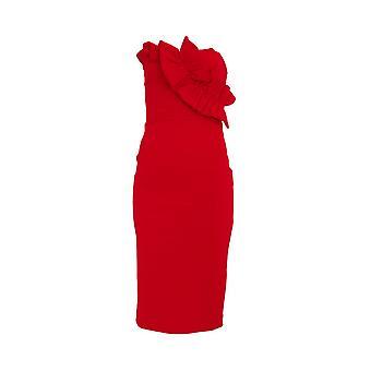 Girls On Film Womens/Ladies Halcyon Frill Bandeau Dress