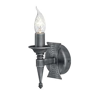 Stead-1 Light Indoor Wall Light Silver, Black-SAX1 BLK/SIL