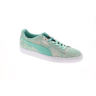 Puma Suede Diamond Supply  Mens Green Classic Low Top Sneakers Shoes