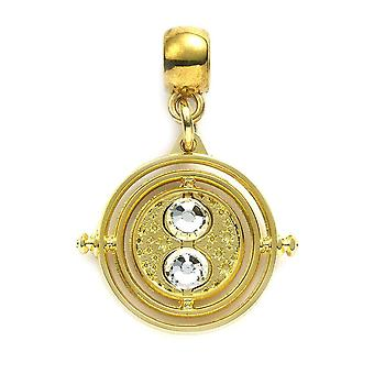 Harry Potter Gold Plated Fixed Time Tuner Slider Charm