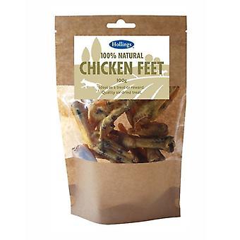 هولينجس أقدام الدجاج الطبيعي 100% 100 غرام