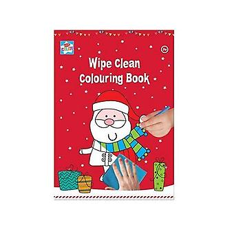 Wipe Clean Colouring Book A4