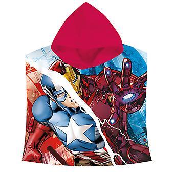 Marvel Avengers Serviette à capuchon Poncho