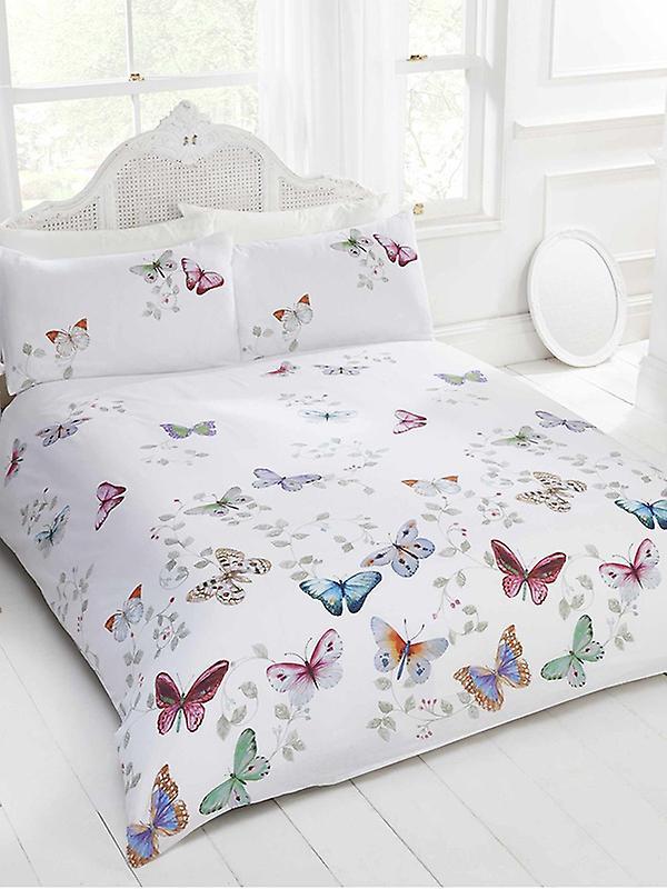 Mariposa Butterfly Duvet Cover and Pillowcase Set
