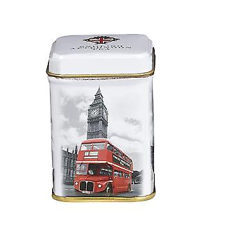 London buss og Big Ben engelsk frokost te mini Tin 25g