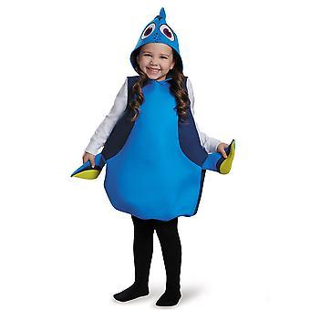 Dory klassische Disney Pixar Finding Nemo Blue Tang Fisch Mädchen Kostüm S