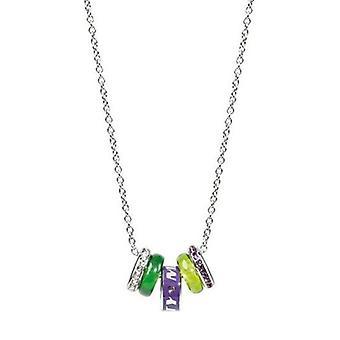 Miss 60 drahých zelených prvkov náhrdelník SMGQ02