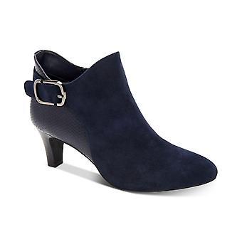 وأشار الجلود الجلود فيوليت النسائي الفاني إصبع القدم الكاحل أحذية أزياء