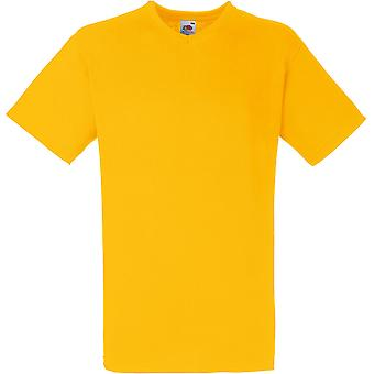 Fruit Of The Loom - Mens Valueweight V-Neck Tee T-Shirt